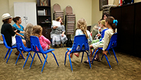 Kids activity at the Chabad Center of University City in the San Diego area